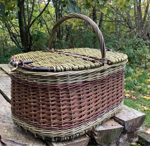 Martha picnic basket, image 4